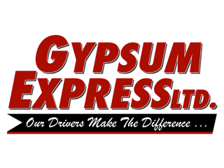 Image of Gypsum Express Ltd. trucking company logo