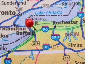 Map image of Buffalo
